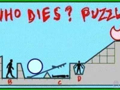 高智商推理题答案 哪个人能活下来