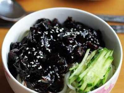 韩国炸酱面 怎么做好吃