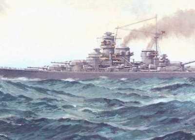 大舰巨炮日德兰海战 二战未能完工的三大战列舰