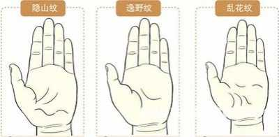 手纹图解 最全最罕见的手相掌纹图解