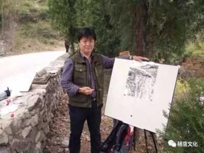 海阳对越反击战烈士 中国画艺术创作院青州分院、安丘分院院长姜东作品