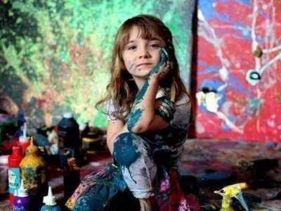 个人画展 幅幅画卖到上万元