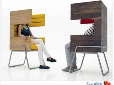 情侣家具s椅 最后一个有点吓人