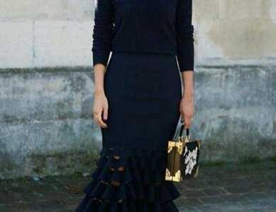 黑色衣服 经典显瘦黑色穿搭攻略