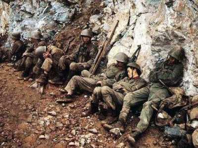 老山战役牺牲战士照片 看到最后一张心疼不已