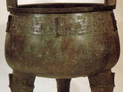 西周早期青铜鼎图片 大盂鼎图