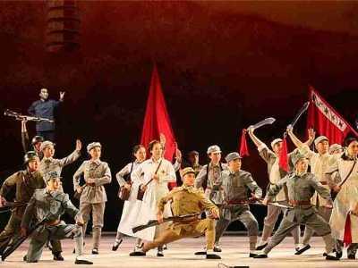 现代京剧西安事变济南 国家京剧院现代京剧《西安事变》上海首演获成功