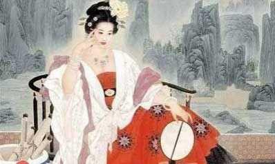 关于杨贵妃的图片 杨贵妃的容貌真的很好看吗