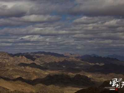 内蒙古的山脉 风云大坝山