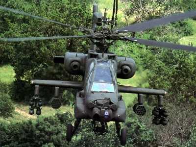 武装直升机作战高度 具有很强火力而又灵活机动的武装直升机