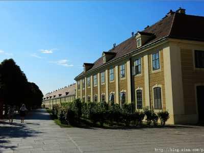 欧洲博物馆 一座欧洲古典建筑的博物馆