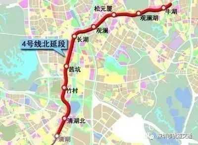 深圳地铁四号线 深圳地铁4号线、6号线建设又有新进展