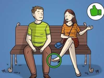男女有好感的身体语言 肢体语言将会告诉你关于男女关系的全部真相