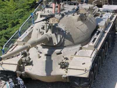 巴顿坦克 不再是战斗的主力