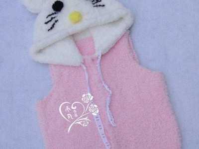 kt猫的来历 适合5-6岁小朋友穿的KT猫背心编织教程