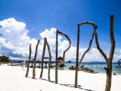 中国最大沙滩 亚龙湾号称天下第一湾