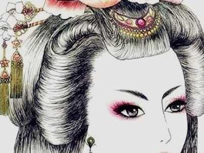 原来她们是用这些东西装饰并且固定的 古代女子发型