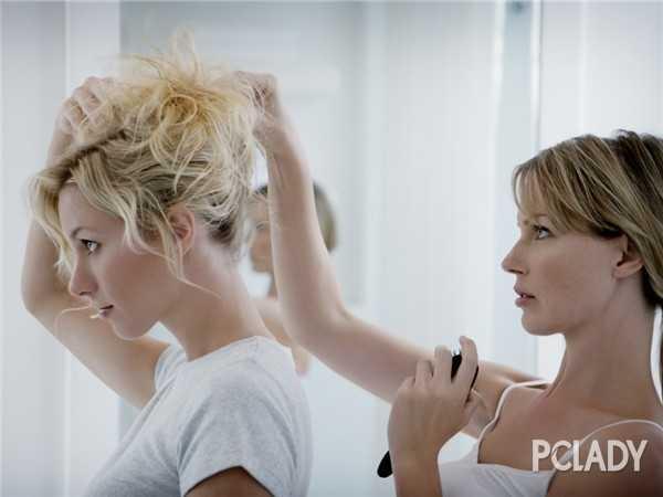示范汉代发型如何扎 汉代女子美容方