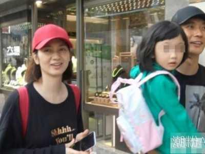 张丹峰老婆 带老婆孩子逛街用行动打破出轨传闻