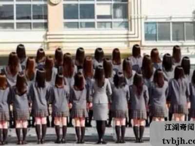日本恐怖的毕业照 世界上最恐怖的毕业照片