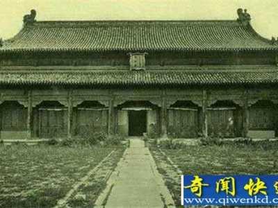 明清时代鬼故事 北京故宫闹鬼事件监控下的宫女活灵活现灵异无比
