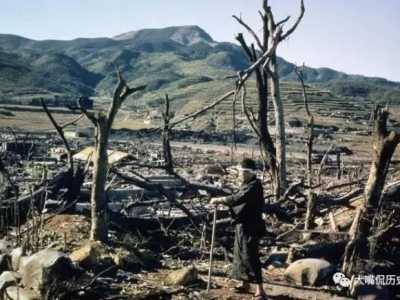 日本爆炸 日本原子弹爆炸后的惨象