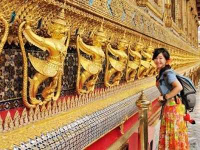 泰国最奢华的宫殿—大皇宫 拉玛王朝大皇宫