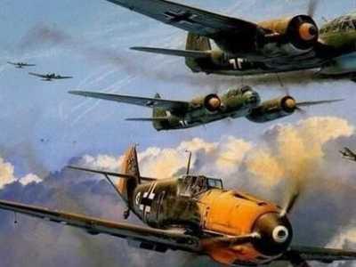 二战德军感人事件 凶名昭著的德军飞行员