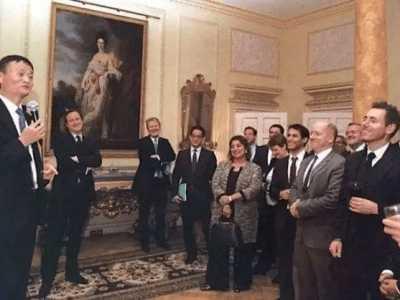 我为什么总受名流和外国领导人的热情招待 马云与外国领导人