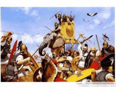 印度的祖先不好打 马其顿腓力五世