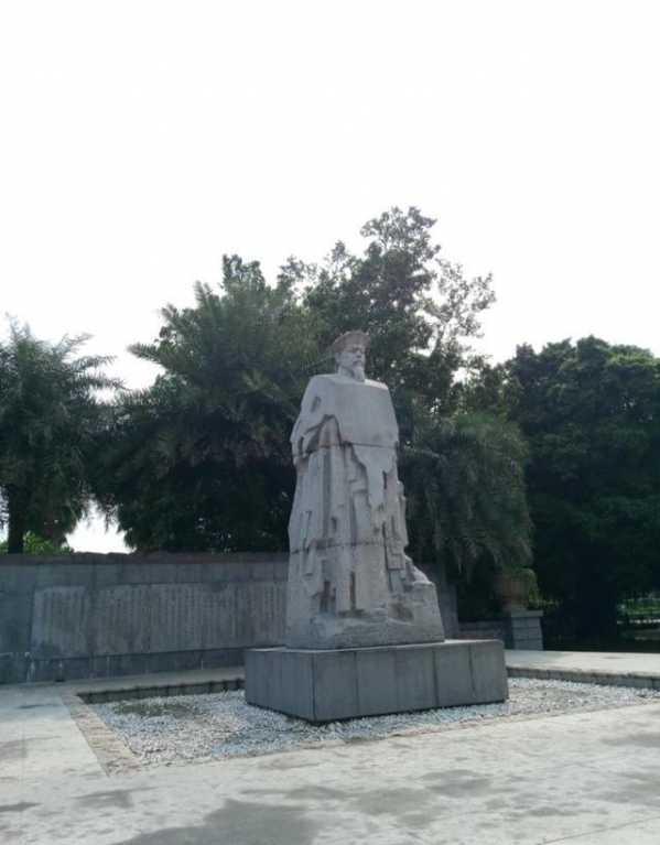 为纪念在广州的销烟壮举而建的林则徐纪念公园 广州怎么去林则徐纪念