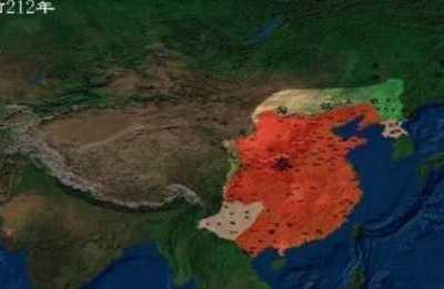 中国主要朝代全盛时期的疆域图 明朝全盛时期疆域图