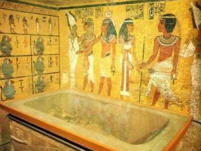 古埃及金字塔里面有什么 埃及金字塔里面的照片