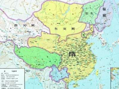 隋朝统治了多少年 从晋朝到隋朝有多少年